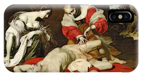St Sebastian Tended By The Holy Irene IPhone Case