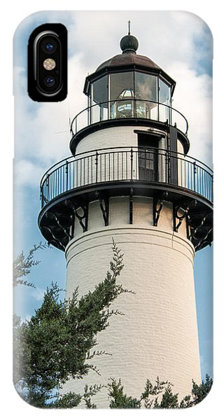St Simons Light IPhone Case