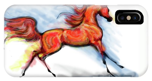 Staceys Arabian Horse IPhone Case