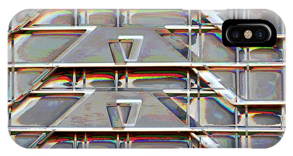 Stacked Storage Crates Abstract IPhone Case