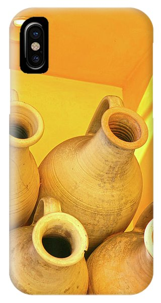 Stacked Yellow Jars IPhone Case