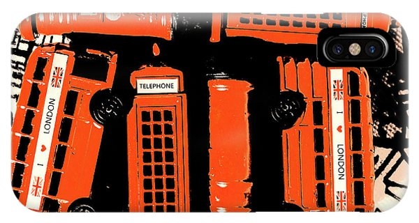 Greater London iPhone Case - Stacking The Double Deckers by Jorgo Photography - Wall Art Gallery