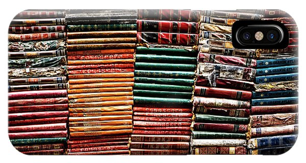 Stacks Of Books IPhone Case