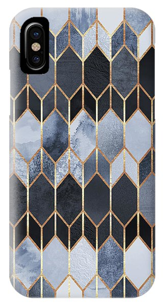 Abstract iPhone Case - Stained Glass 4 by Elisabeth Fredriksson