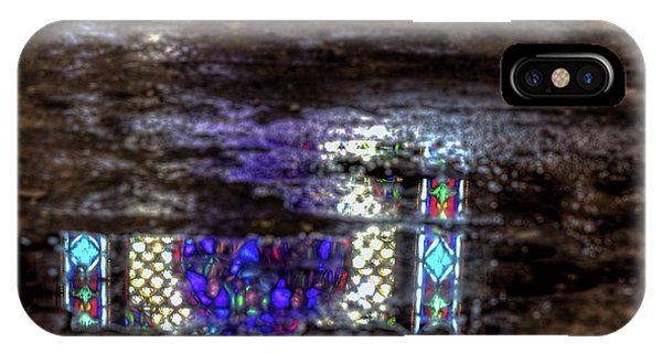 Stained Glass Reflections IPhone Case