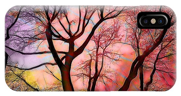Stained Glass Sunrise 2 IPhone Case