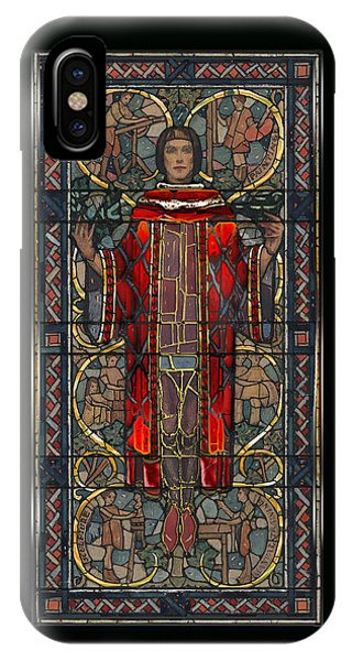 Stained Glass Window 1928 - Remastered IPhone Case