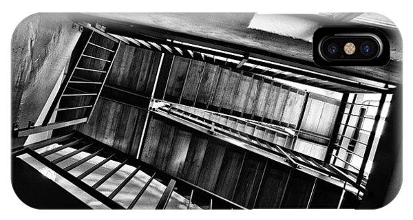 Staircase iPhone Case - Staircase by Nailia Schwarz