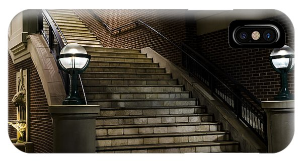 Staircase On The Blvd. IPhone Case