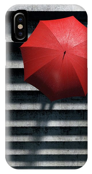 Umbrella iPhone Case - Stairs by Cynthia Decker