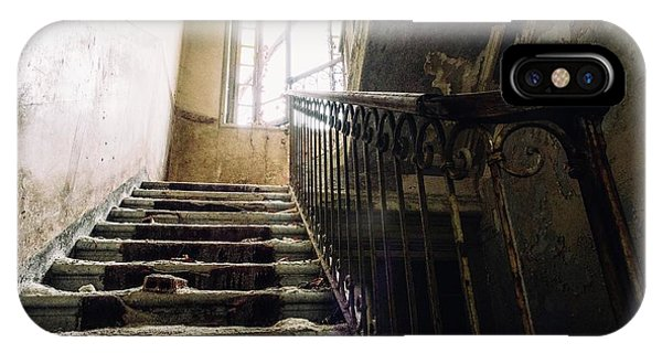 Stairs In Haunted House IPhone Case