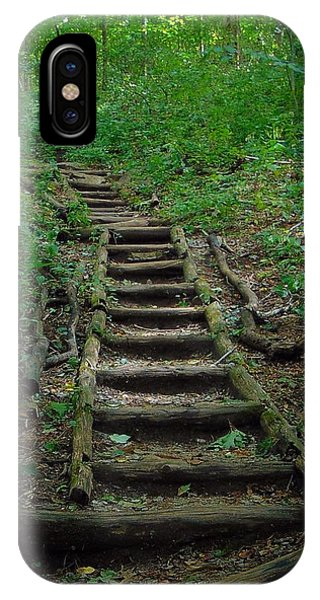 Stairway At Unicoi Gap On The At IPhone Case