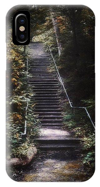 Staircase iPhone Case - Stairway by Scott Norris
