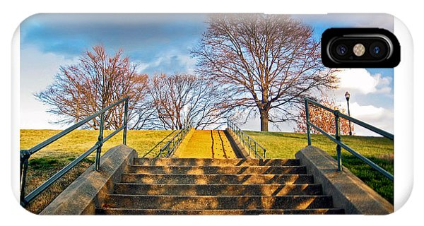 Stairway To Federal Hill IPhone Case