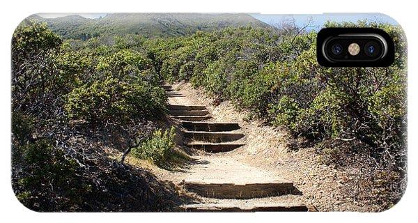 Stairway To Heaven On Mt Tamalpais IPhone Case