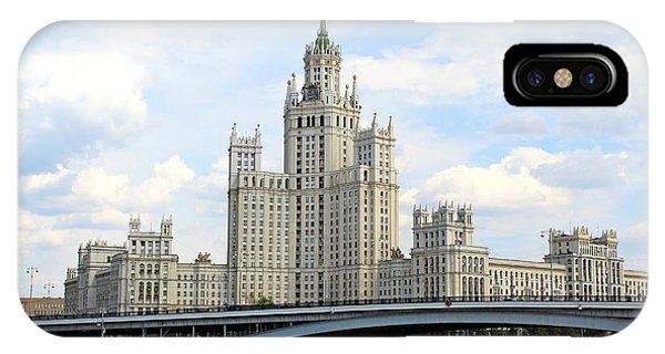 Kotelnicheskaya Embankment Building IPhone Case