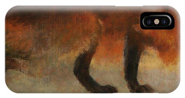 Stalking Fox IPhone Case