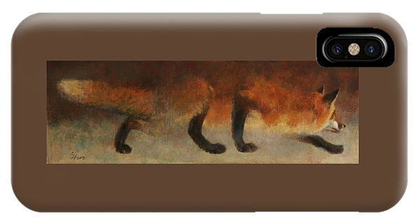Stalking Fox IPhone Case