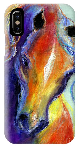Stallion Horse Painting IPhone Case