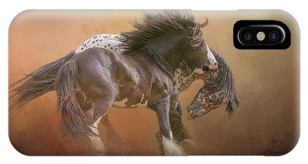 Stallion Play IPhone Case