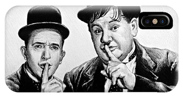 Stan And Ollie IPhone Case