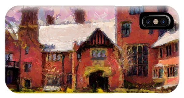 Stan Hewyt Hall And Gardens Phone Case by Anthony Caruso