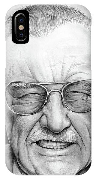 Stan Lee IPhone Case