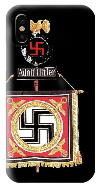 Standard Of The Leibstandarte Adolf Hitler Circa 1935  IPhone Case