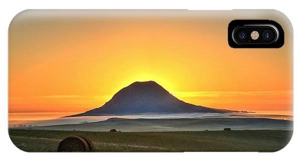 Standing In The Shadow IPhone Case