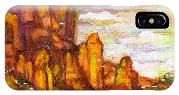 Standing Stones Landscape Phone Case by Jan Wendt