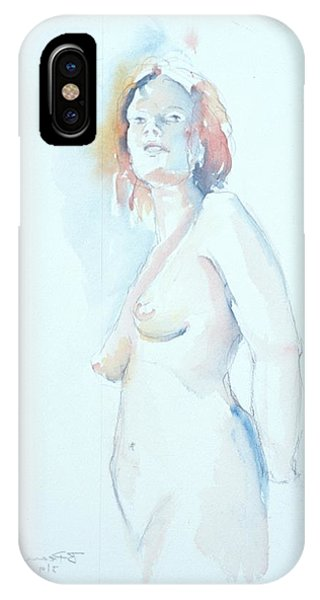 Standing Study 2 IPhone Case