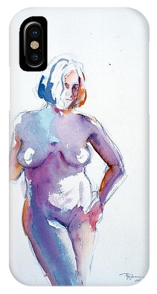 Standing Study IPhone Case