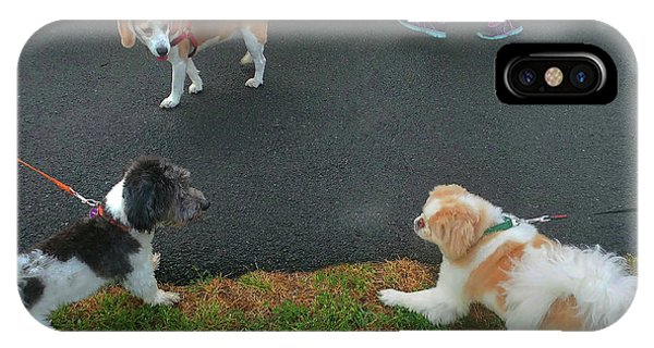 IPhone Case featuring the photograph Standoff by Roger Bester