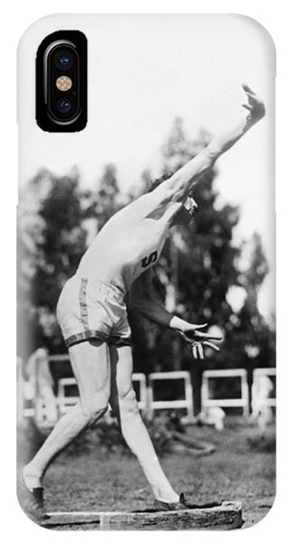 Stanford iPhone Case - Stanford Field Star Hartranft by Underwood Archives