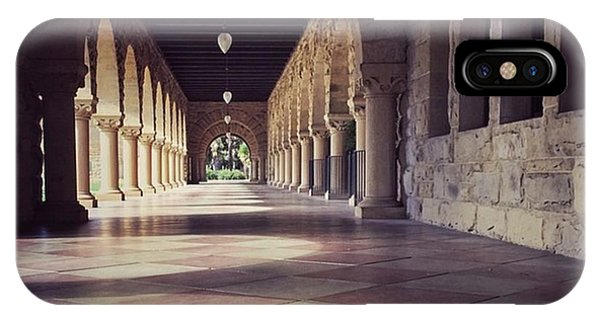 School iPhone Case - Stanford University #buildings by Jonathan Nguyen