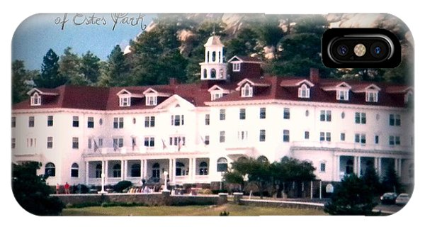 Stanley Hotel IPhone Case