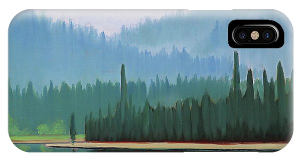 Stanley Lake - Far Shore IPhone Case