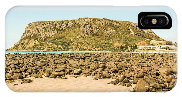 No People iPhone Case - Stanley Seascape by Jorgo Photography - Wall Art Gallery