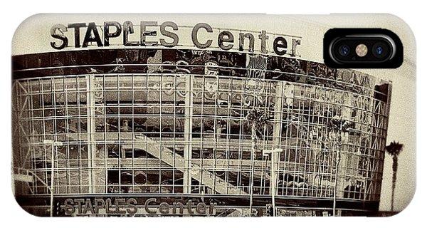 Staples Center Phone Case by Ariane Moshayedi