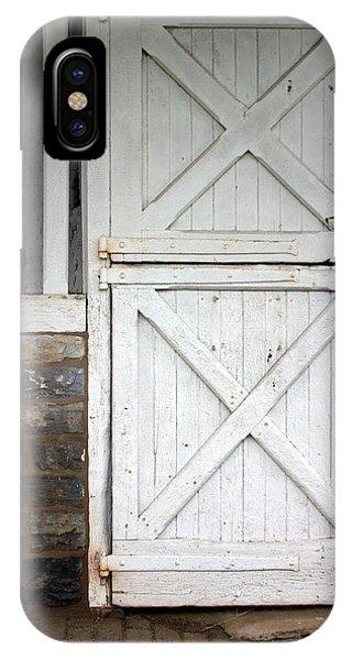 Timeworn iPhone Case - Star Barn Door by Joseph Skompski