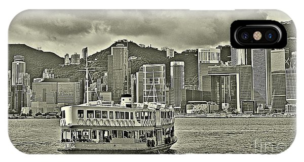 Star Ferry In Hong Kong IPhone Case
