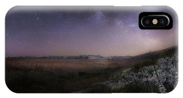 Star Flowers Square IPhone Case