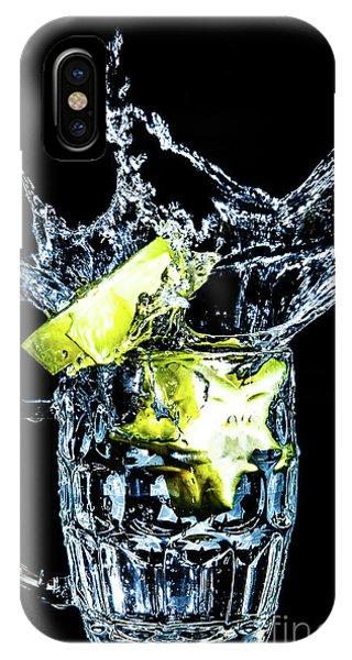 Star Fruit Splash IPhone Case