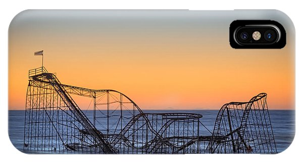 Michael iPhone Case - Star Jet Roller Coaster Ride  by Michael Ver Sprill