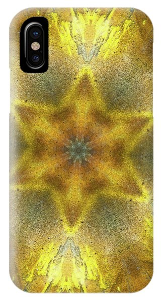 Repeat iPhone Case - Star Kaleidoscope by Wim Lanclus