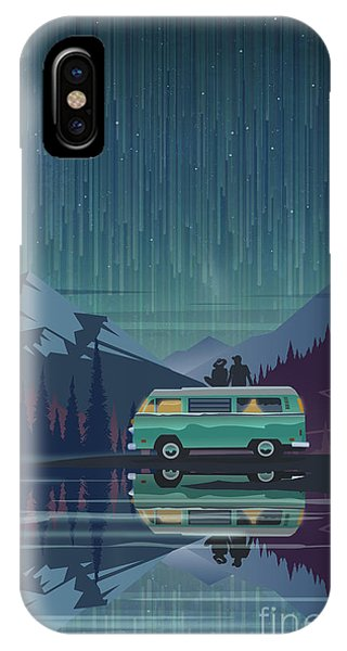 Shooting iPhone Case - Star Light Vanlife by Sassan Filsoof