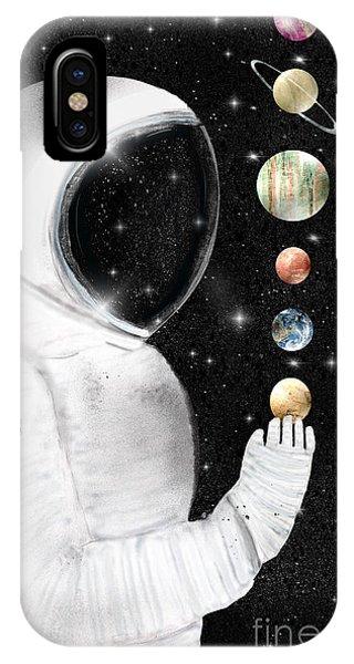 Solar System iPhone Case - Star Man by Bri Buckley