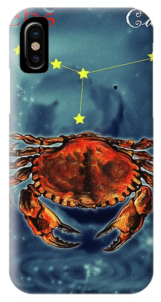 iPhone Case - Star Of Cancer by Johannes Margreiter