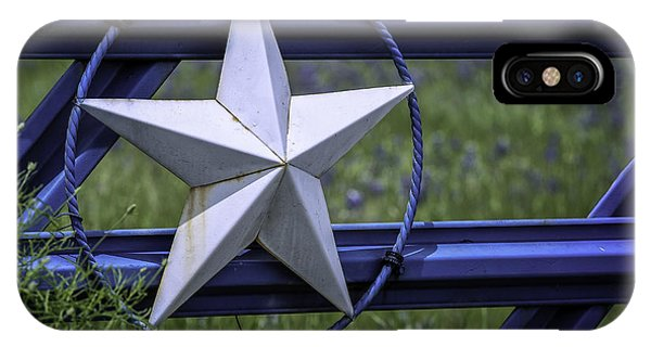 Star Of Texas IPhone Case
