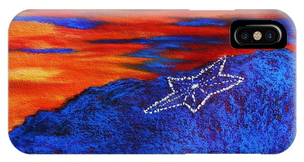 Star On The Mountain IPhone Case